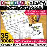 Decodable Readers   CVC Decodable Readers Bundle