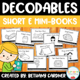 Decodable Readers - Short E Pack - Engaging and Easy-Prep