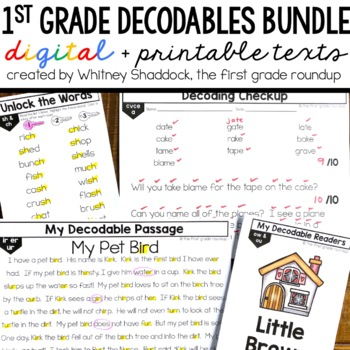 Decodable Readers and Passages BUNDLE