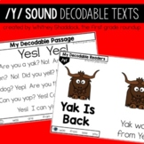 Decodable Readers and Passages for Letter Sound Y