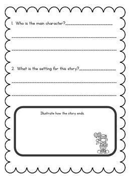 Decodable Readers and Questions for Reading Street- Tippy-Toe Chick, Go!