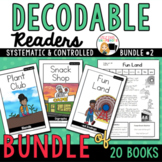 Decodable Readers to Support the Science of Reading- Bundle 2