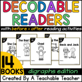 Decodable Readers with Digraphs | Decodable Books with Digraphs