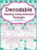 Decodable Reading Comprehension Passages