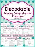 Decodable Reading Comprehension Passages