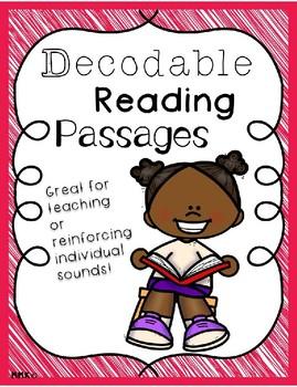 Decodable Reading Passages