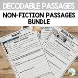 Decodable Passages Non-Fiction Reading Comprehension BUNDL