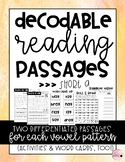 Decodable Reading Passages: Short A