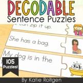 Decodable Sentence Puzzles