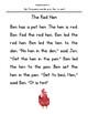 Decodable Short Stories - Short E (The Pet Hen)