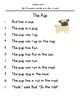 Decodable Short Stories - Short U (The Pup)