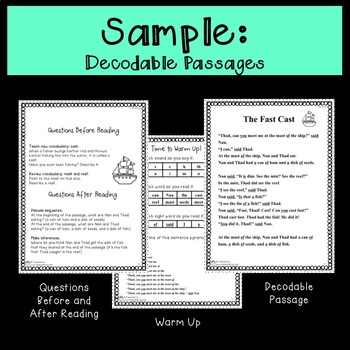 Decodable Stories Compatible with Corrective Reading Decoding A Lessons 11-20