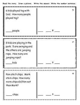 Decodable Story Problems