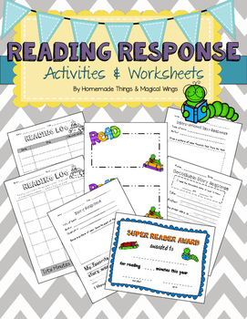 Reading Response Worksheets & Activities {Primary}