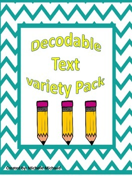 Decodable Text Variety Pack