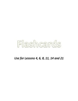 Decodable Word Cards: Consonants and Short Vowels