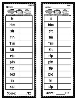 Decodable Word Checks