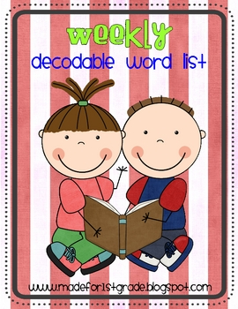 Decodable Word Checks