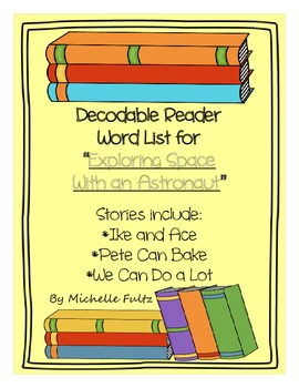 Reading Street Unit 1- Decodable Word List for Stories 2-5 (2nd grade)