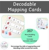 Decodable Sound to Symbols Word Mapping Cards
