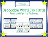 Decodable Words Clip Cards
