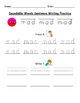 Decodable Words Sentence Writing Practice