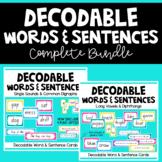 Decodable Words and Sentences BUNDLE