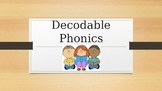 K-2nd grade phonics presentation {decodable phonics}