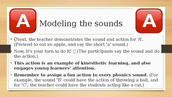 Phonics presentation for professional development {Decodable phonics}