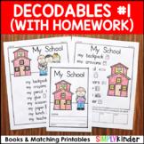 Decodable Readers - Set 1 Decodables