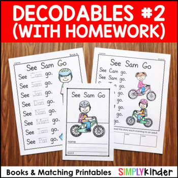 picture regarding Free Printable Decodable Books for Kindergarten called Decodable Guides - Established 2 Decodables