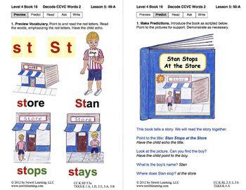 Decode CCVC Words: Lesson 5, Book 16 (Newitt Decoding Series)