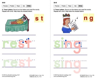 Decode CVCC Words: Lesson 3, Book 16 (Newitt Decoding Series)