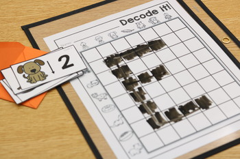 Decode It (Alphabet, CVC Words, Numbers) SET ONE