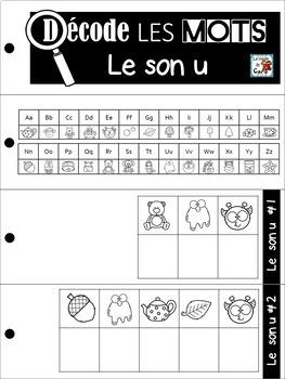 Décode LES mots  Les sons - Série #1 - LEARN FRENCH SOUNDS