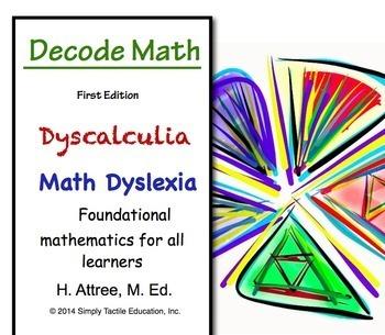 Decode Math - Dyscalculia, Math Dyslexia, Visual Learners