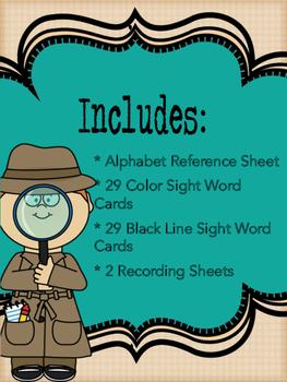 Decode Secret Sight Words QR Codes