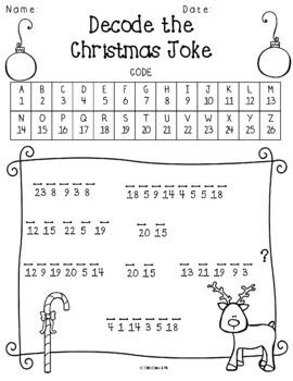 Decode the Christmas Word
