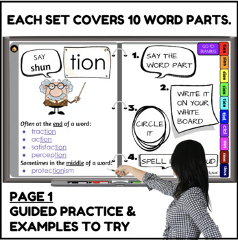 Decoder's Handbook Advanced Decoding through Multisyllabic Word Parts Program