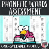 Decoding Assessment for One-Syllable Words