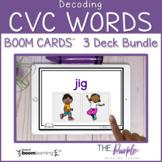 Decoding CVC Words 3 Deck Bundle   Distance Learning