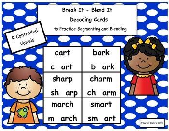 Decoding Cards R Controlled Vowels Bundle
