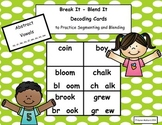 Decoding Cards Abstract Vowel Bundle