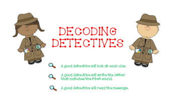 Decoding Detectives