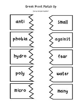 Decoding Detectives: Greek Root & Word Vocabulary Study UNIT 3- ELA CCSS Aligned
