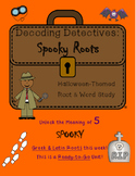 Decoding Detectives: Spooky Halloween Greek and Latin Root