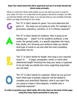 Decoding Essay Prompts: Teaching Students to Understand Writing Prompts