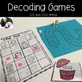 Decoding Games CVC, CVCC, CCVC Words