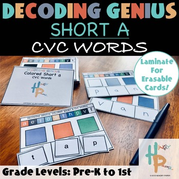 Decoding Genius: Short A CVC Words