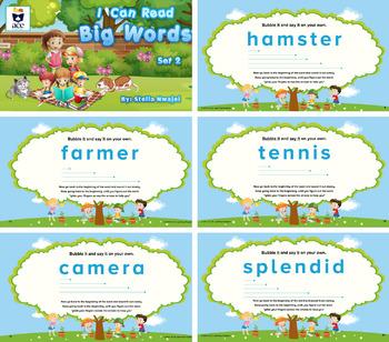 Decoding: I Can Read Big Words-Set 2